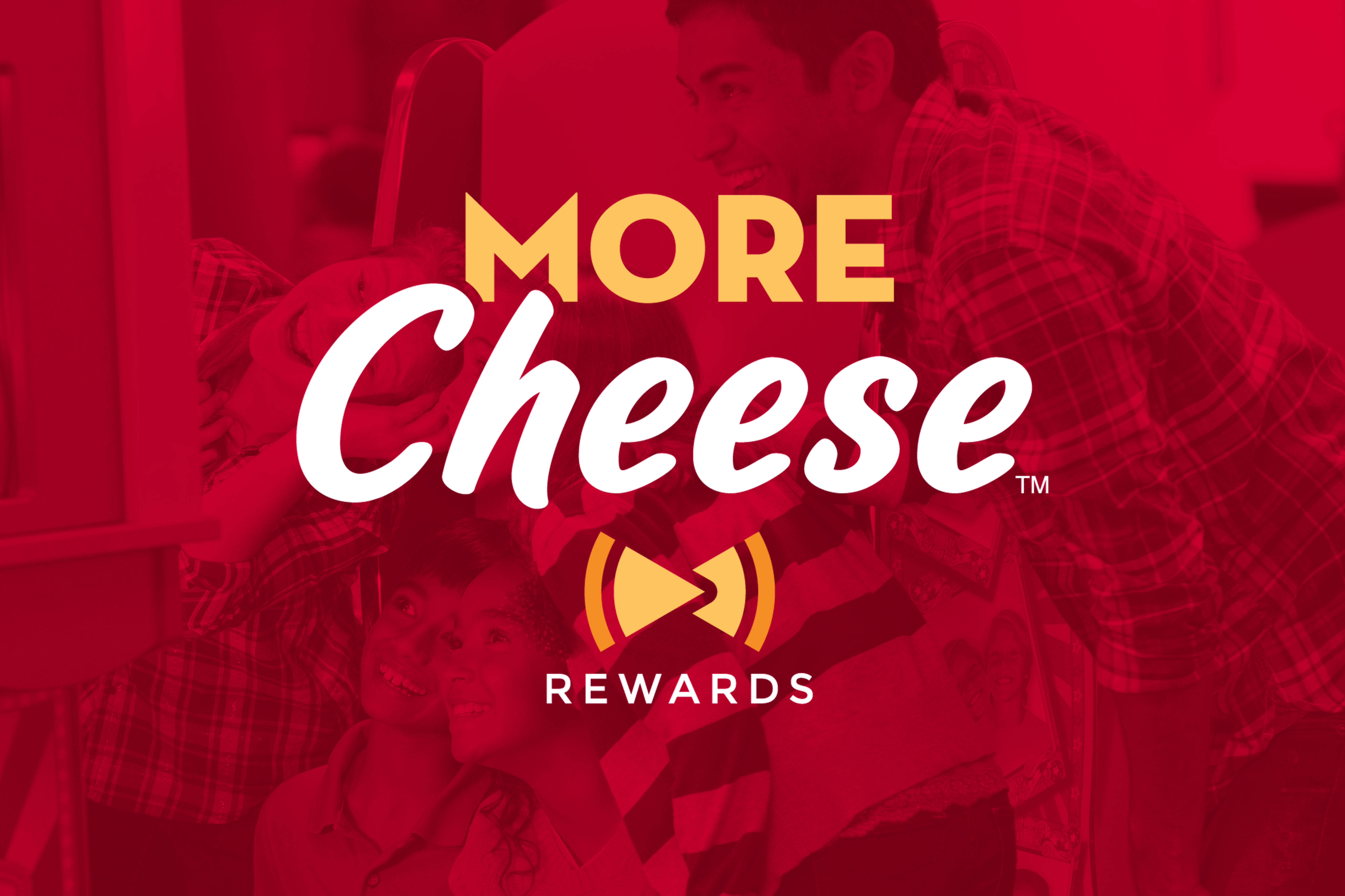 More cheese rewards text and logo